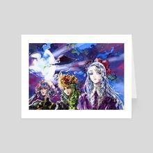 Ametrine, Unakite et Lazulite - Art Card by Ether Beam