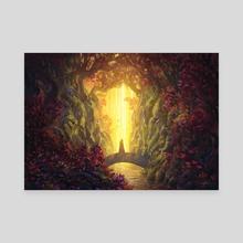 Mindfulness - Canvas by Jorge Jacinto