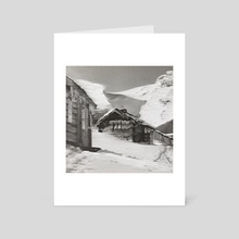 Whiteout - Art Card by Infatuation
