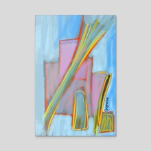 Abstract #3 - Acrylic by Ljev Rjadcenko