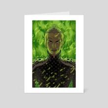 cersei - Art Card by kristafer anka