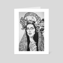 Mother! - Art Card by Genevieve Brissette