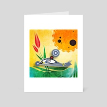 Solar-speed snail - Art Card by Vogdux Sergik