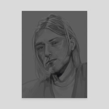 Kurt - Canvas by Anjaly Valdez