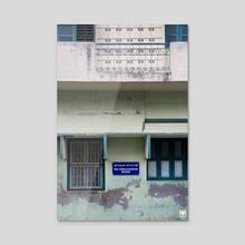 Rue Ambalatadayer Madam. - Acrylic by Parag Phadnis