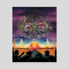 Zombie Wars - Canvas by Matthew Panuska