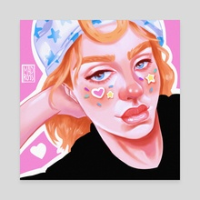 Johnny Joestar - Canvas by Madison Ross