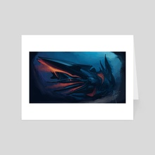 Abyss - Art Card by Alice  Bruderer