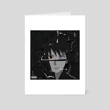 "Sasuke ""Beauty Behind The Madness"" - Art Card by Joey Sifuentes"