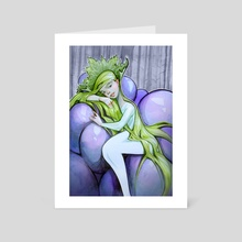 Spirit ff grapes - Art Card by Cristiana Grati