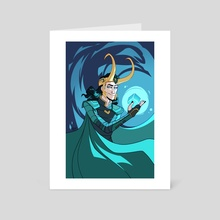God of Mischief - Art Card by Minty