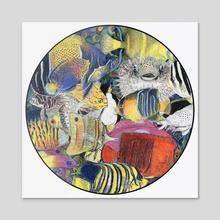 Crossing Paths V3 - Acrylic by Natalie Jackson