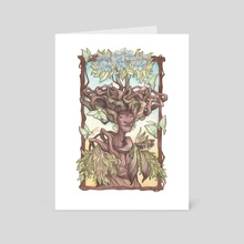Yavanna: Queen of the Earth, Giver of the Fruits - Art Card by Tiffany England