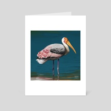 The stork - Art Card by Soroush Saber