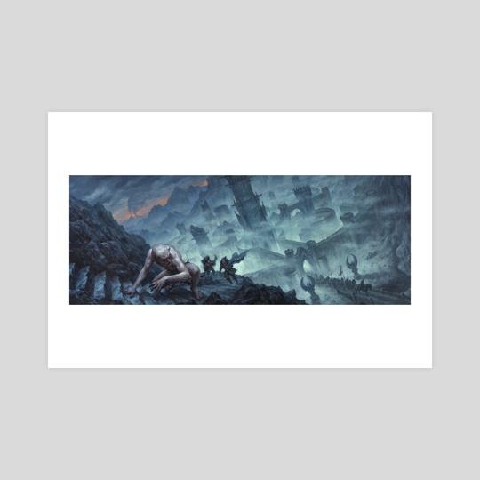Minas Morgul by Chris Rahn