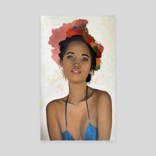 Delilah  - Canvas by Lisa van Woensel
