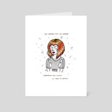 Leeloo - Art Card by ANA HOO