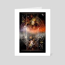 Long live the Pharaoh  - Art Card by Samuel Iniguez