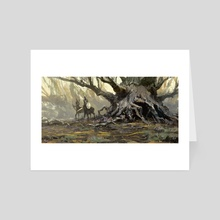 Fantastical Forest - Art Card by Jared Shear