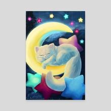 Dreamland - Canvas by Yvonne Bea
