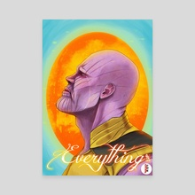 """""""What did it cost?"""" - Canvas by Rui Macarico"""