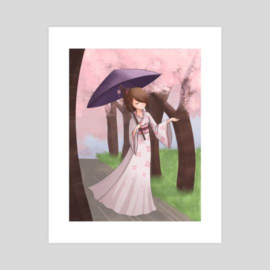 Sakura Walk by Gimme Hug