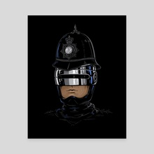 Royal Cop - Canvas by Enkel Dika