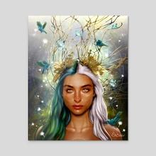 Gemini - Acrylic by SnCinder