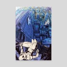Fantastic Four Spider-man  - Canvas by Michael DeNicola