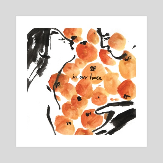 I Dreamt of Oranges 4/6 by Gracey Zhang