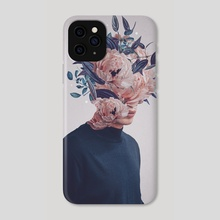 Waited for a Hundred Winters to Meet You - Phone Case by Frank  Moth