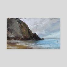 Coast Study 2 - Canvas by Allison Gloe
