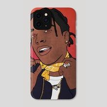 A$AP Rocky - Phone Case by Riki Prosper