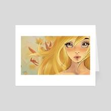 Fall - Art Card by Tiki Edri