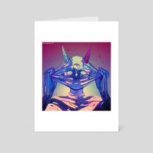 Skincare - Art Card by Arsha
