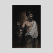 Humility kills pride - Canvas by Manu Anilkumar