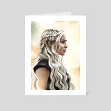 Daenerys - Art Card by Dmitry Belov