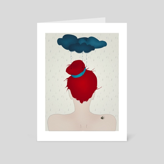 Under a dark cloud (part of the I am Magic series) by Sybille Sterk