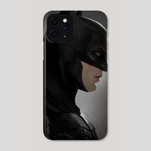 The Batman (Portrait) - Phone Case by Mizuri