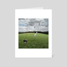 Luggage Free - Art Card by Alastair Magnaldo