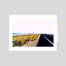 Along the Salt Flats - Art Card by Alex Tonetti
