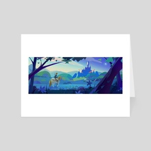 Breath of the Wild - Art Card by Lindsey Hiramoto