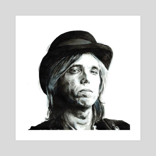 Tom Petty by Tim Alblas