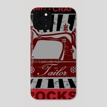 Sewing Crafting ROCKS! - Phone Case by Genevieve Blais