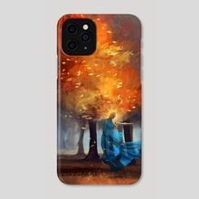 Forest spirit - Phone Case by Vincent Belbari