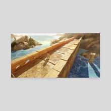 Rhythma - The Bridge II - Canvas by Ali Eser