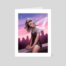 In my dreams Im to blame - Art Card by Fernanda Suarez