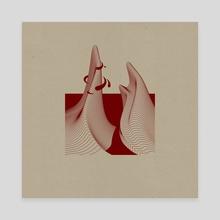 The Lands Beyond XV - Canvas by Enrico Ruggeri