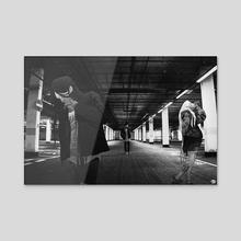 Mugen Trio - Acrylic by Sam Ledoyen
