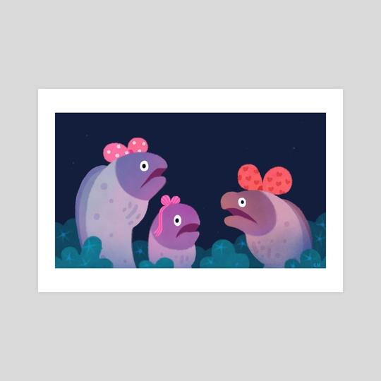 Ribbon eels by pikaole